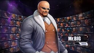 Mr. Big NOW AVAILABLE in The King of Fighters ALLSTAR