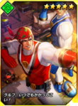 Kof-card-ranger ralf and clark 1