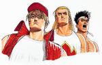 KOF94 Fatal Fury Team