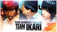 "KOF XIV - Team Gameplay Trailer 13 ""IKARI"""