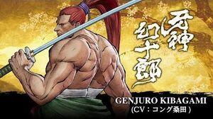 GENJURO KIBAGAMI -- SAMURAI SHODOWN - SAMURAI SPIRITS - Character Trailer (Japan - Asia)