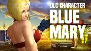 "KOF XIV - DLC CHARACTER ""BLUE MARY"""