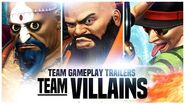 "KOF XIV - Team Gameplay Trailer 6 ""VILLAINS"""