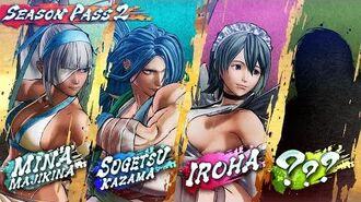 SAMURAI SHODOWN SAMURAI SPIRITS – Season Pass 2 New DLC Characters