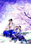 SamuraiShodown Haohmaru and Jubei
