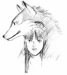 Shiroi Eiji-Nakoruru and Shikuru