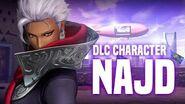 "KOF XIV - DLC CHARACTER ""NAJD"""