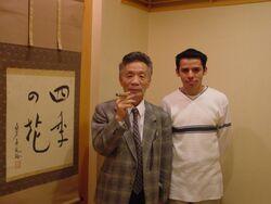 Eikichi Kawasaki and Angel Torres