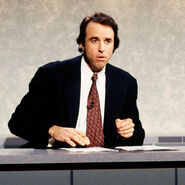 Kevin Nealon at the Weekend Update Desk