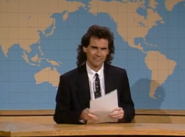 Dennis Miller at the Weekend Update Desk
