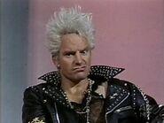 SNL Sting as Billy Idol