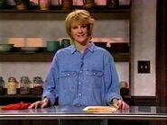 Nancy Walls as Martha Stewart
