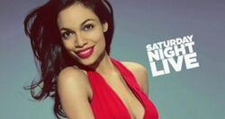 SNL Rosario Dawson