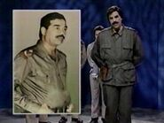 Kevin Nealon as Saddam Hussein