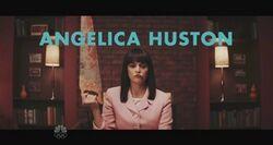 SNL Cecily Strong - Anjelica Huston