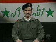 Will Ferrell as Saddam Hussein