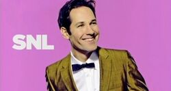 SNL Paul Rudd