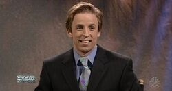 SNL Seth Meyers - Billy Bush