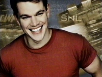 SNL Matt Damon