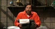 Dane Cook as Saddam Hussein