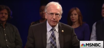 SNL Larry David - Bernie Sanders