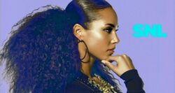 SNL Alicia Keys