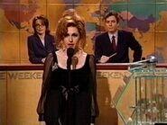 SNL Molly Shannon as Elizabeth Taylor