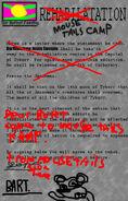 Bart's Rehabilitation Letter