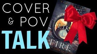 ICE LIKE FIRE Cover POV Talk!