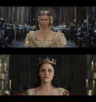 Queen Ravenna Vs Queen Snow White