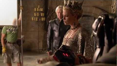 Snow White and the Huntsman - On The Set Death In The Throne Room