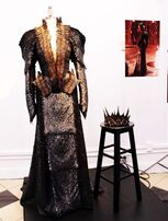 Ravenna's Battle Dress and Crown