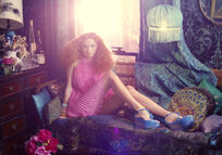 Lily Cole by Michael Labica & Sandr