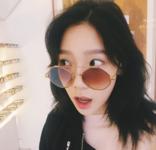 Taeyeon post on Instagram