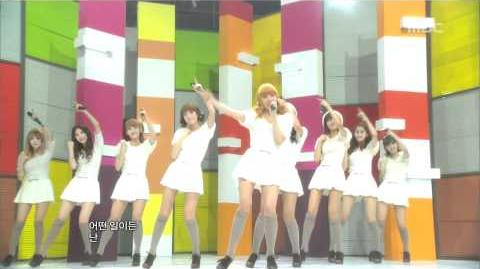 Girls' Generation - My Best Friend, 소녀시대 - 단짝, Music Core 20101030