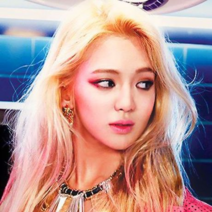Hyoyeon front page