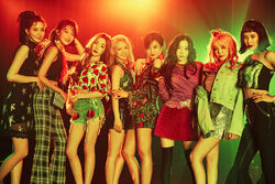 Girls' Generation Holiday Night Promo Picture 2