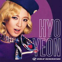 Girls & Peace 2nd Japan Tour Hyoyeon Promo