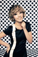 Girls' Generation Taeyeon Hoot promo photo