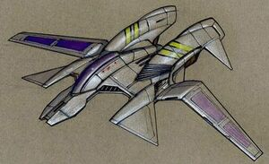 BI BIF-75 Tanto Light Starfighter
