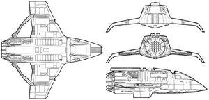 Bajoran fighter