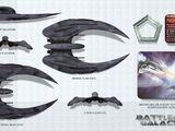 Cylon Raider (BG:RDM)