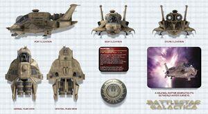 Battlestar-galactica-raptor wallpaper