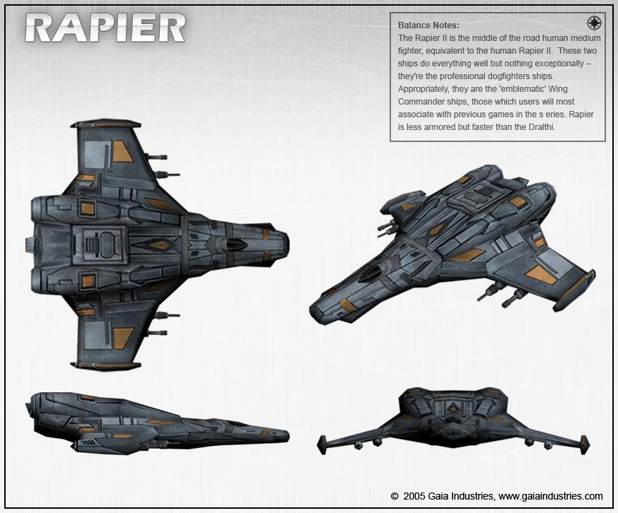 F 44 Rapier Snubfighter Wiki Fandom