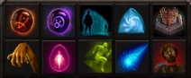 Glyph overview