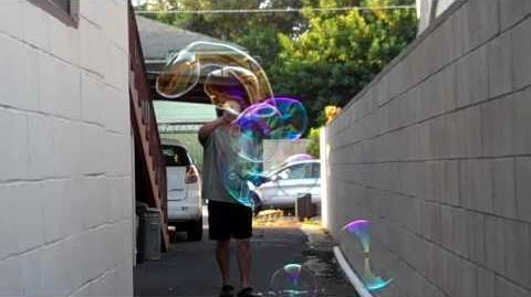 Soap Bubble Hoop Work 12-26-09
