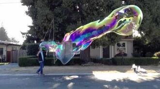 2012 10 09 spaceship bubble in slo mo
