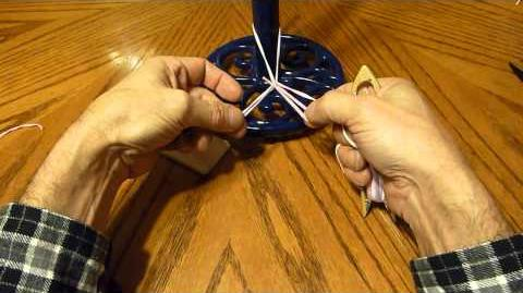 Glowby/Making a Bubbling Net with a Netting Needle - Part 1