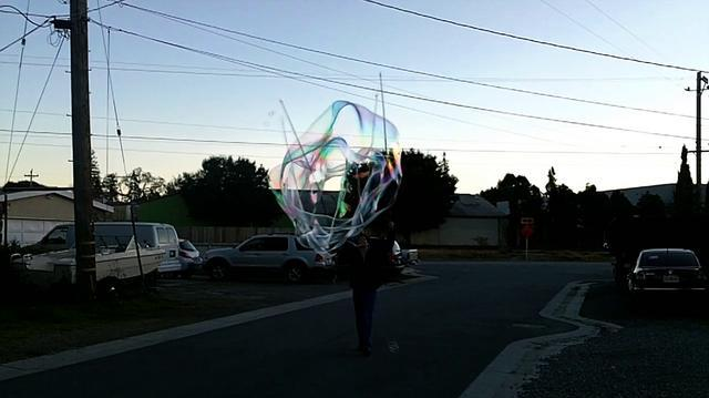 2011 02 26 Giant Bubble Test