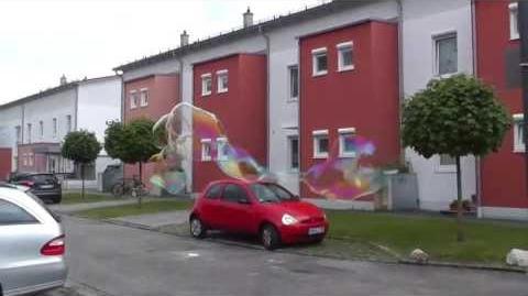 Giant Soap Bubbles June 2013